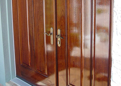 Custom Solid Wood Door 1