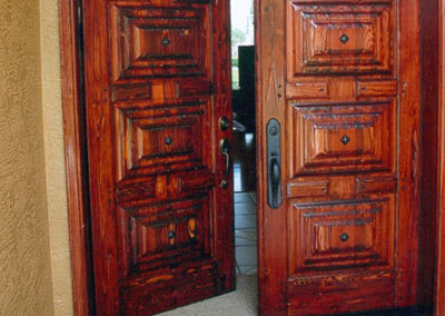 Custom Solid Wood Door 2