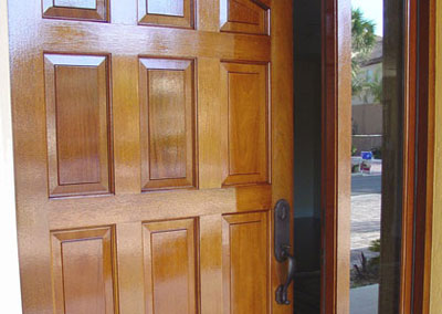Refinished Doors 1