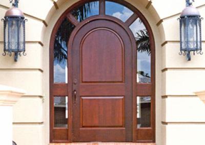 Adam Ross Custom Wood Door 1