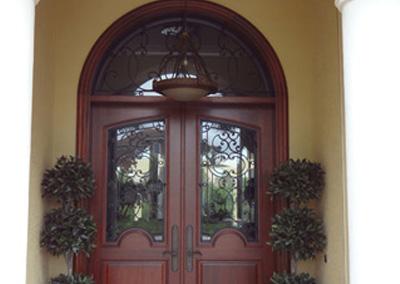 Adam Ross Custom Wood Door 4