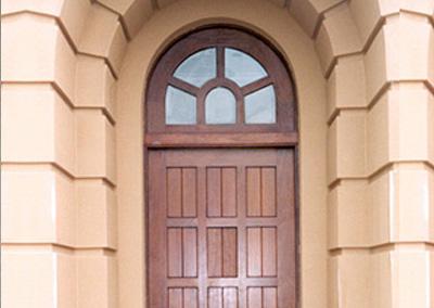 Adam Ross Custom Wood Door 6