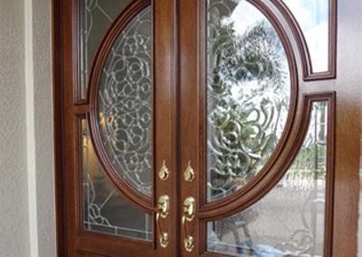 Adam Ross Custom Wood Door 7